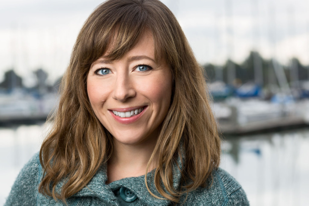 Smiling woman in Company Headshot at Marina location