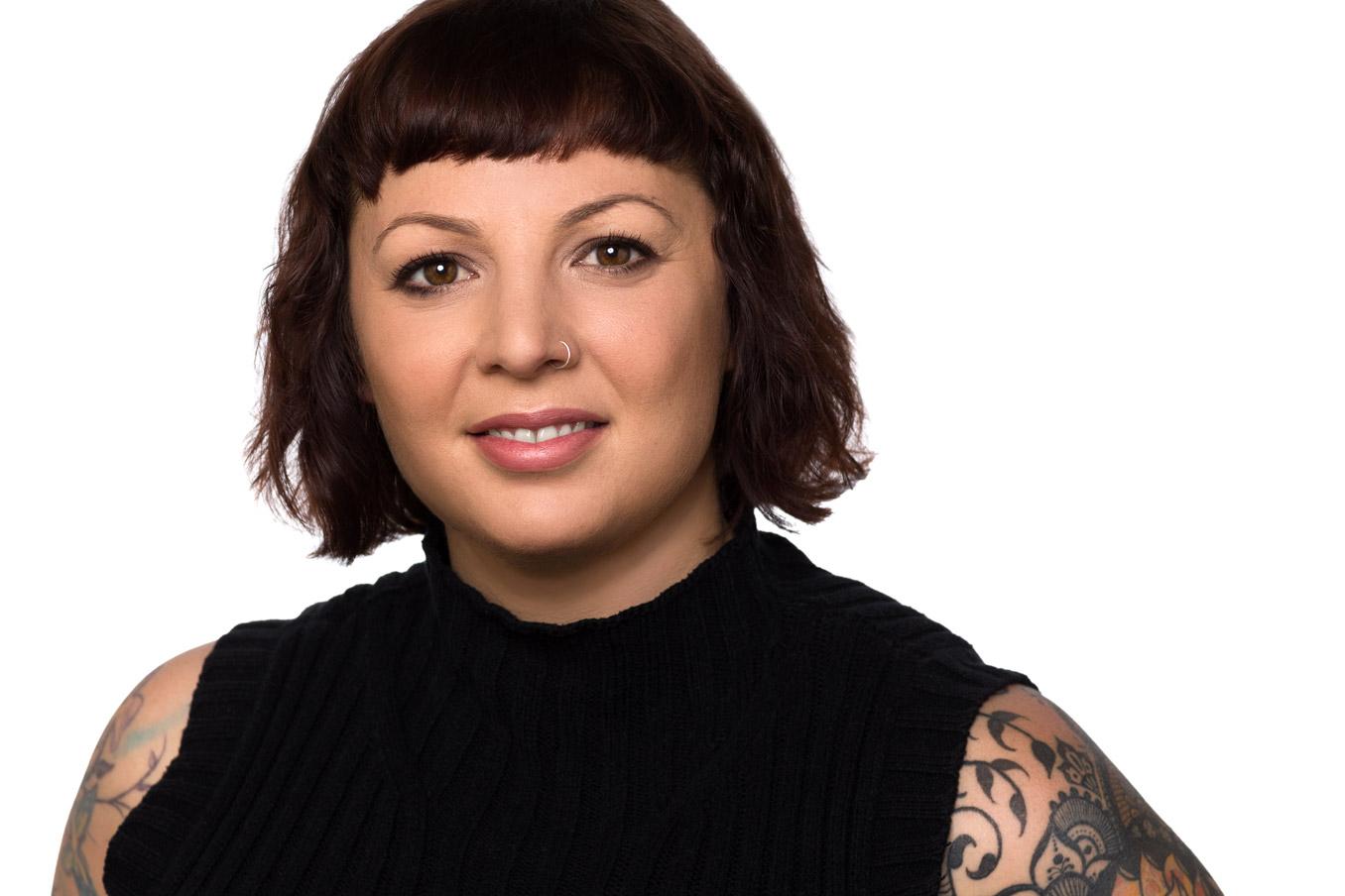 Headshot of makeup artist