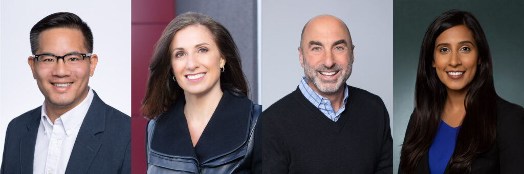 Employee Headshots for Four People