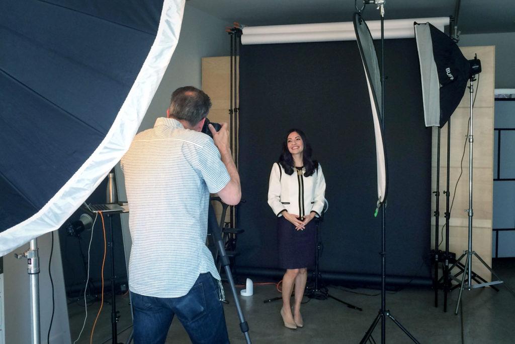 Corporate Photo Session Privacy
