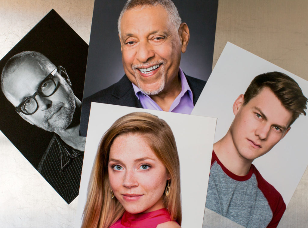 Print Headshots for 4 People